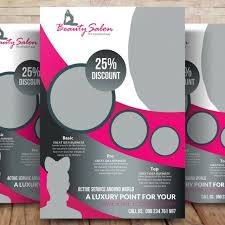 Modern Beauty Salon Flyer Template For Free Download On Pngtree