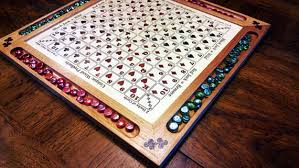 Wooden Sequence Board Game Inlaid Sequence Game Board 2