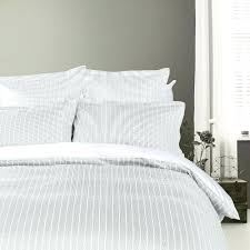 navy stripe duvet cover king and white twin set