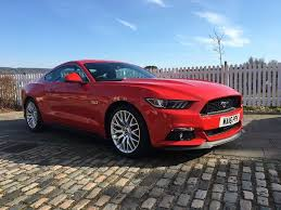 Ford Mustang GT 5.0 V8 2016 UK RHD - Fantastic Condition Climate Leather  Seats A