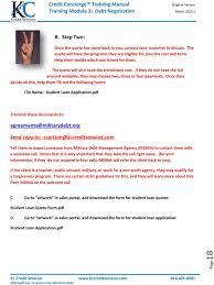 Training Module 5: Student Loan Consolidation Program - Pdf