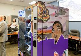 Vending Machine Convention Las Vegas 2017 Simple Nation's First Public Needle Vending Machine For Drug Users Debuts