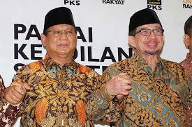 Image result for Prabowo dan Salim Segaf