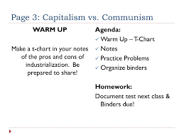 Communism Pros And Cons Chart Ppt Capitalism Vs Communism Powerpoint Presentation Free