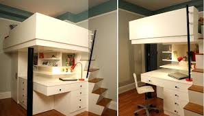 loft desk bed mixing work with pleasure loft beds with desks underneath photo details these we loft desk bed
