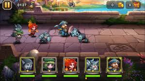 heroes dota defense unlimited money mod apk android