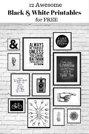 12 free black and white printables great for using in your gallery wall curated by calm collected  on wall art black white with 12 free black and white printables great for using in your gallery