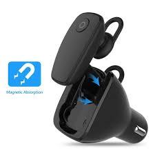 Bluetooth Wireless Stereo An On Board Headphones Prweyn Bluetooth Hbm 800 Bluetooth Headset And Car Kit