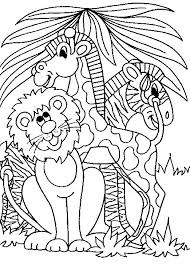 Jungle Coloring Pages For Kids At Getcoloringscom Free Printable