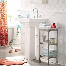 bathroom storage under pedestal sink awesome under pedestal sink storage ideas with bathroom cabinet high resolution