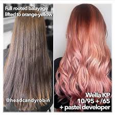 Wella Red Colour Chart Wella Permanent Hair Color Chart Elegant Wella Kp 10 95 65