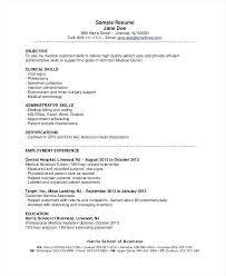 Medical Assistant Resume Objective Englishor Com