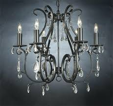black iron chandelier ikea with crystals home design ideas gallery wrought crystal