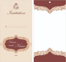 Create Invitation Card Free Download Inspiration Wedding Invitation Card Design Free Download Jessicajconsulting