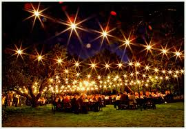 how to decorate a garden for party with lights ornament my eden romantic outdoor lighting at