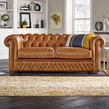 Old Sofa Chesterfield 2 Seater Sofa Shackleton Old English Bruciato