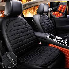 Vehemo Hot Car interior Thickening Heated Car Cushion Seat Quilted ... & Vehemo Hot Car interior Thickening Heated Car Cushion Seat Quilted Nylon Car  Auto 12V Heater Heated Cushion Warmer Seat Cover-in Automobiles Seat Covers  ... Adamdwight.com