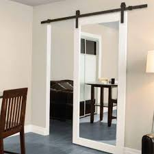 Hanging Sliding Door Kit Hanging Mirror On Pocket Door Wall Dors And Windows Decoration