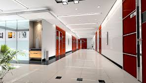 designs for office. Cool Red Designs For Office Doors Ceramic Tile Floor Large Corridor