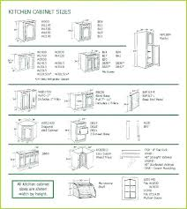 Standard Kitchen Base Cabinet Sizes Chart Standard Kitchen Cabinet Sizes Depth Dimensions Chart