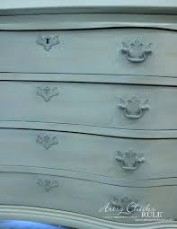 furniture painted with chalk paintSecretary Desk Makeover w Duck Egg Blue  3 Colored Waxes Chalk