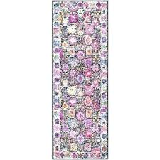 pink and blue area rug bungalow rose fl bright size runner 2 andover rugs glamorous hot