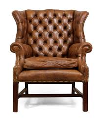 Leather Wingback Chair For Sale Mid Century Leather Wingback Chair For Sale At Pamono