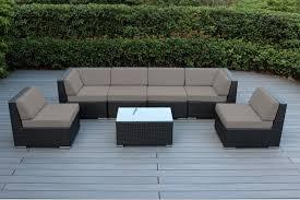 amazon outdoor furniture covers. Amazon.com: Ohana Collection 7 Piece Outdoor Patio Wicker Sectional Sofa Set - Amazon Furniture Covers I