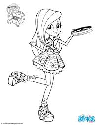 My Little Pony Equestria Girl Coloring Pages Coloring Pages