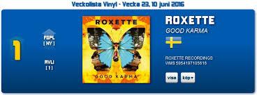 Swedish Charts Good Karma Entered The Swedish Charts At No 1 And No 2