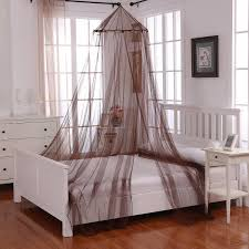 Check out Casablanca Oasis Round Hoop Sheer Bed Canopy - ShopYourWay