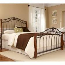 wood and iron bedroom furniture. dunhill wood iron bed in pine black by and bedroom furniture