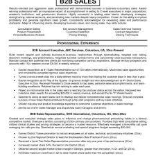 B2b Sales Resumes Sales Resume Example Resume Cv Cover Letter Car Sales In Sample