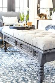 diy tufted coffee table turn glass coffee table into ottoman diy bench from a repurposed blesser