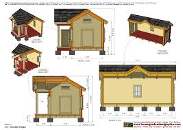 home garden plans  DH   Insulated Dog House Plans   Dog House    DH   Insulated Dog House Plans