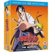 Naruto Shippuden Movie Trilogy Blu-ray