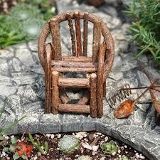fairy garden accessories gardens miniature make twig garden furniture fairy homemade diy