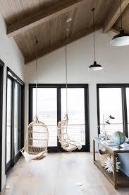 Modern Hanging Chair Modern Mountain Home Continued Bonus Room Studio Mcgee