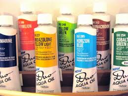Duo Aqua Oil Paint By Holbein Water Soluble Oil Paint 40 Ml Tube Multiple Colors Color Names In Alphabetical Order R Z