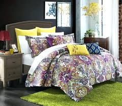paisley duvet cover queen red