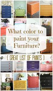 diy furniture refinishing projects. What Color To Paint Your Furniture? (25 DIY Projects) - Craftionary Diy Furniture Refinishing Projects