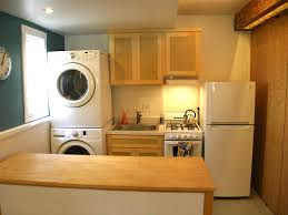 Washer And Dryer In Kitchen Silverlake Sunset Junction Studio Full Kitchen Walking