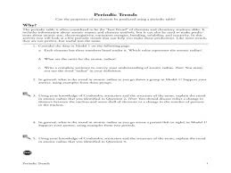 Properties Of Atoms And The Periodic Table Worksheet Answers ...