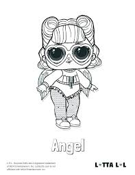 Lol Doll Coloring Pages To Print Surprise Coloring Pages Series 3