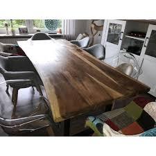 Esszimmertisch Esstisch Massivholztisch Tisch Holztisch Baumkante Esszimmer