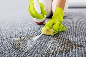 remove stains from grey carpet
