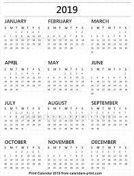 print a calendar 2019 calendar 2019 tumblr 2019 yearly calendar in 2019 calendar