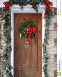 christmas front door clipart. Christmas Wreath On Door Clipart Front G