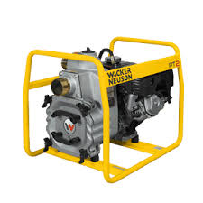 wacker neuson construction machines construction equipment self priming trash pumps