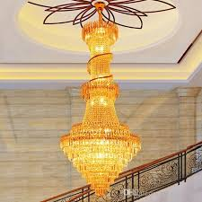 led modern chandeliers gold crystal chandelier lighting fixture luxury home indoor living room foyer stair long spiral pendant lamps chandelier
